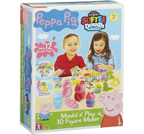 Peppa Pig Softee Dough Small Figure Kit Clay & Dough for Kids Age 3Y+