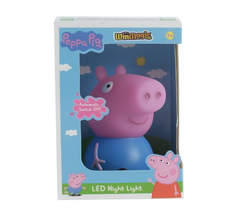 Peppa Pig George Night Light With Timer for Kids age 3Y+