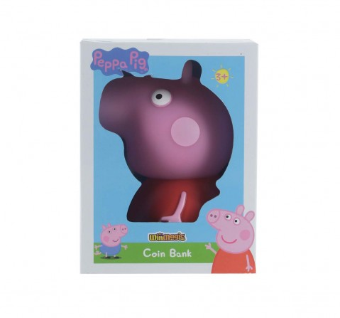 Peppa Pig Peppa Coin Bank Novelty for Kids Age 3Y+