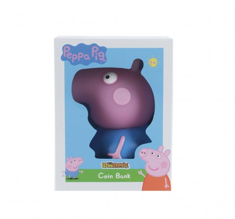 Peppa Pig George Coin Bank Novelty for Kids Age 3Y+