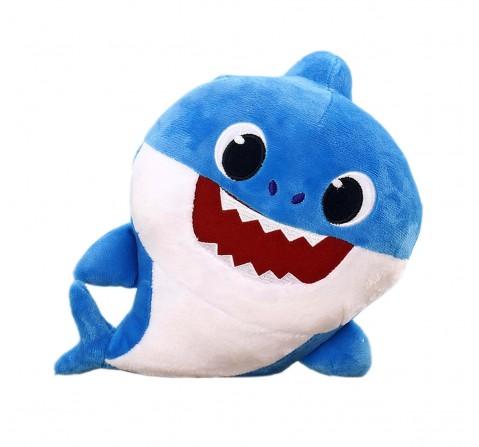 Baby Shark Daddy Shark Plush 20 Cm, 0M+ (Blue)