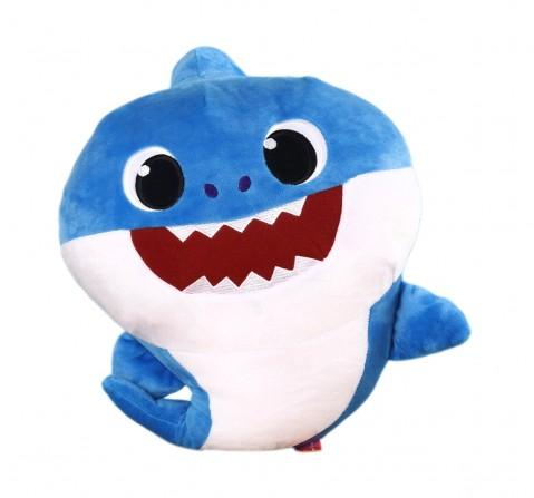 Baby Shark Daddy Shark Plush 30 Cm, 0M+ (Blue)