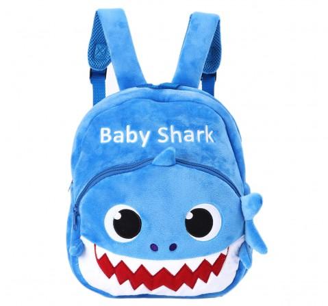 Baby Shark Daddy Shark Plush Bag, 0M+ (Blue)