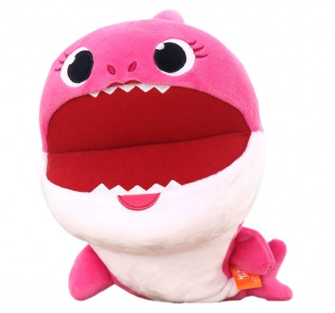 Baby Shark Mommy Shark Puppet 27 Cm, 0M+ (Pink)