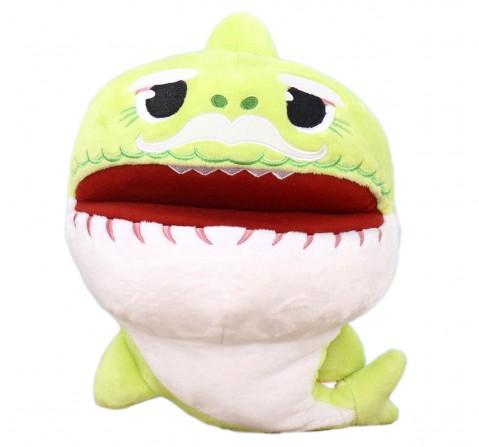 Baby Shark Grandpa Shark Puppet 27 Cm, 0M+ (Green)