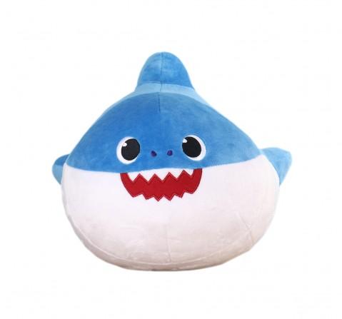 Baby Shark Daddy Shark Pillow, 0M+ (Blue)