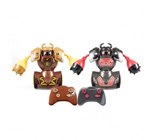 Silverlit Ycoo Robo Kombat Viking Battling Robots With Power Fist (Twin Pack) With Remote Control for Kids Age 5Y+