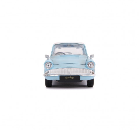 Jada Marvel Harry Potter 1959 Ford Anglia 1:24 Vehicles for Kids age 8Y+ (Blue)