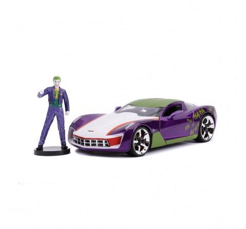 Jada Marvel Joker 2009 Chevy Corvette Stingray 1:24 Vehicles for Kids age 8Y+
