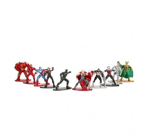 Jada Marvel Nano Figure 10-Pack Tracksets & Train Sets for Kids Age 3Y+