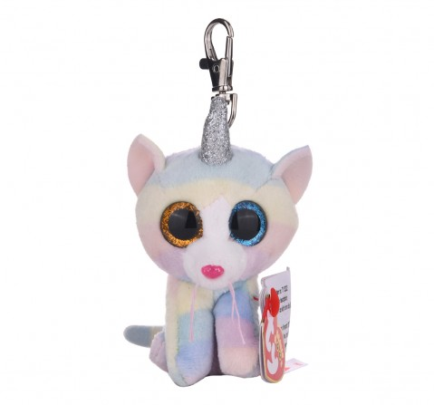 Ty Beanie Boos Heather - cat with horn clip Plush Accessories for Kids age 3Y+ - 8.5 Cm