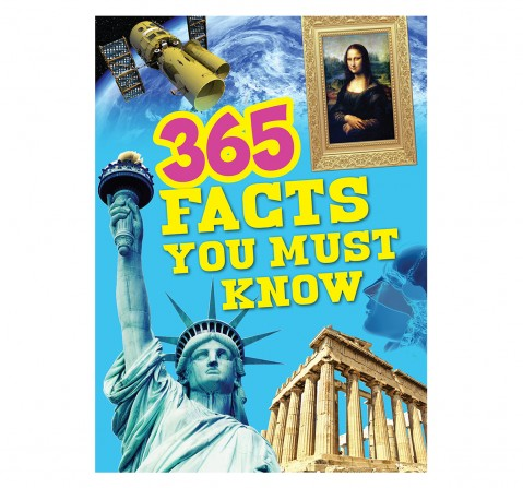 Om Kidz: 365 Facts You Must Know, 236 Pages, Hardcover