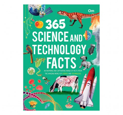 Om Kidz: 365 Science and Technology Facts, 236 Pages, Hardcover