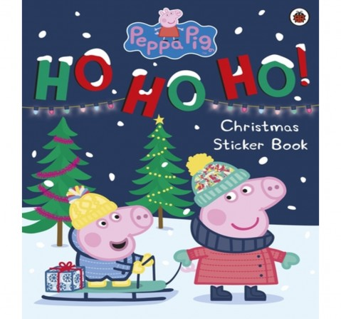 Peppa Pig: Ho Ho Ho! Christmas Sticker B, 24 Pages Book by Ladybird, Paperback
