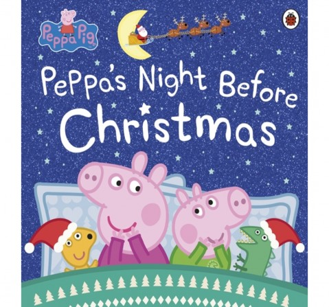 Peppa Pig: Peppa's Night Before Christma, 32 Pages Book by Ladybird, Paperback