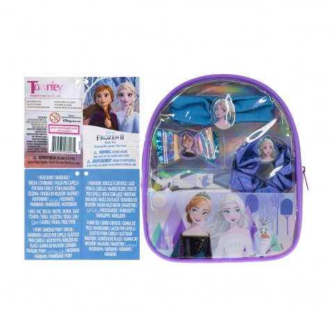 Townley Girl Frozen II Hair  Accessories  Gift pack Toileteries and Makeup for Girls age 3Y+