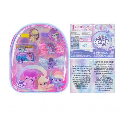 Townley Girl My Little Pony Hair Accessories Gift Bag Toileteries and Makeup for Girls age 3Y+