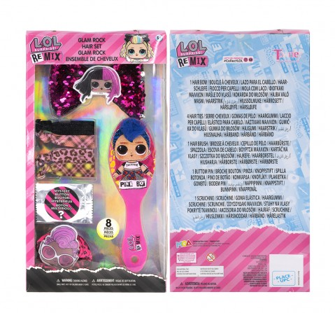 Townley Girl LOL Hair Accessories Box Set Toileteries and Makeup for Girls age 3Y+