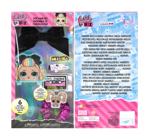 Townley Girl LOL Hair Accessories Set Toileteries and Makeup for Girls age 3Y+