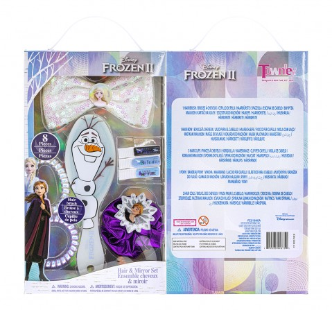 Townley Girl Frozen II Hair Accessories Box Set Toileteries and Makeup for Girls age 3Y+