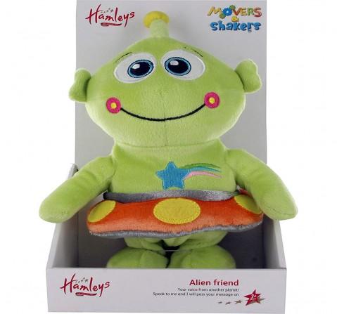 Hamleys Movers & Shakers Alan The Alien (Green), 3Y+