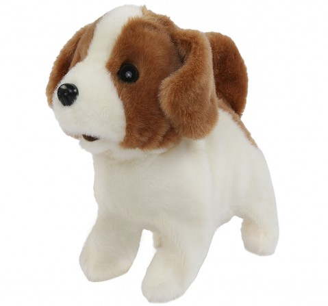 Hamleys Movers & Shakers Baby Jack Russell Plush Soft Dog, 3Y+