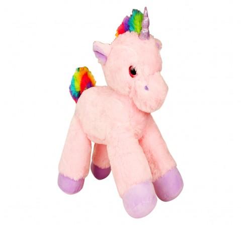 Fuzzbuzz Lying Unicorn Plush  - 53Cm (Pink), 0M+
