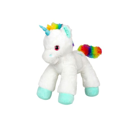 Lash Z Lying Unicorn Plush - White - 53Cm