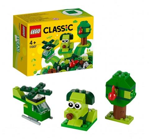 LEGO 11007 Creative Green Bricks Lego Blocks for Kids age 4Y+