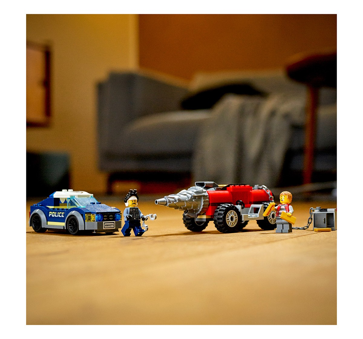 LEGO 60273 Police Driller Chase Lego Blocks for Kids age 5Y+
