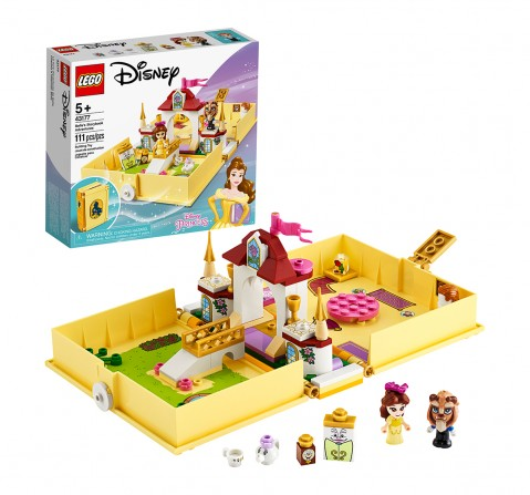 LEGO 43177 Belle's Storybook Adventures Lego Blocks for Girls age 5Y+