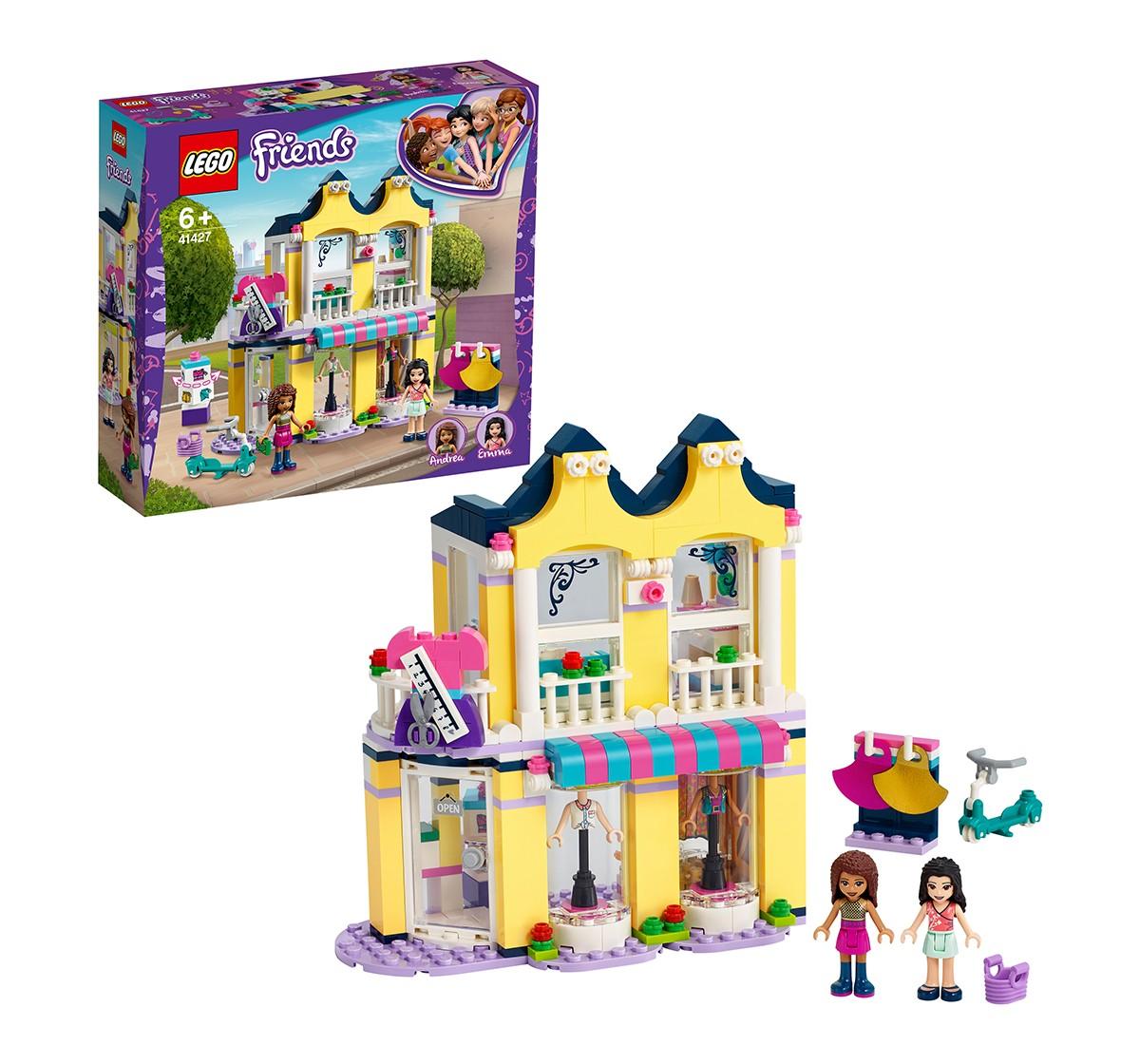 LEGO Emma's Fashion Shop Lego Blocks for Kids age 6Y+