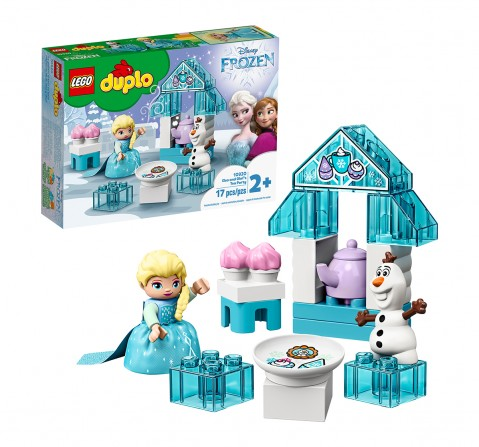 LEGO 10920 Elsa and Olaf's Tea Party Lego Blocks for Kids age 2Y+