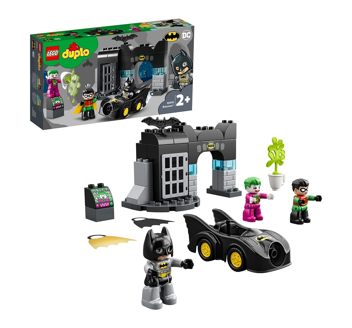 LEGO 10919 Batcave™ Building Block Set Lego Blocks for Kids age 2Y+