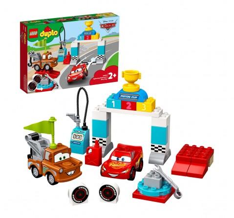 LEGO 10924 Lightning McQueen's Race Day Lego Blocks for Kids age 2Y+