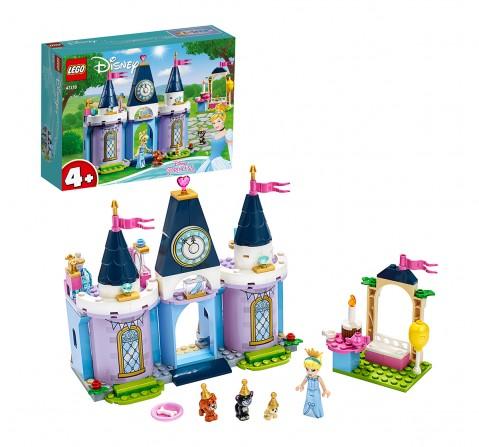 LEGO 43178 Cinderella's Castle Celebration Lego Blocks for Girls age 4Y+