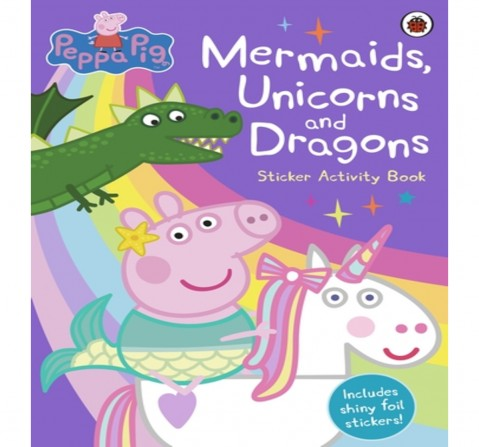 Peppa Pig: Mermaids, Unicorns and Dragon, 16 Pages Book by Ladybird, Paperback