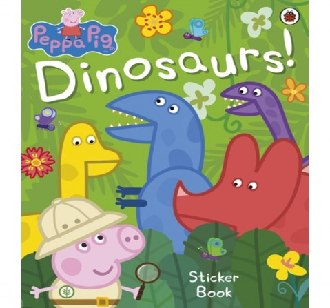 Peppa Pig: Dinosaurs! Sticker Book, 24 Pages Book by Ladybird, Paperback