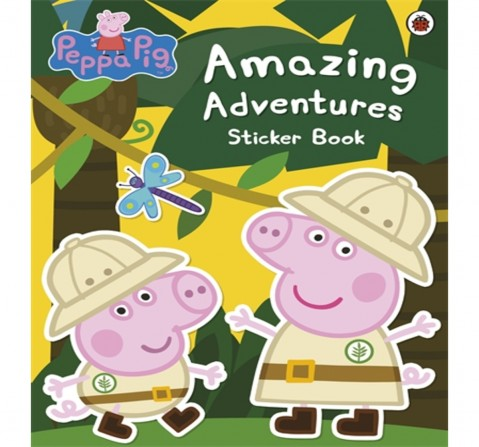 Peppa Pig : Amazing Adventures Sticker B, 24 Pages Book by Ladybird, Paperback
