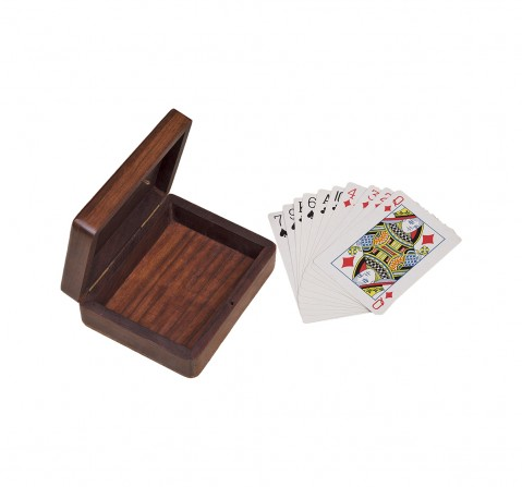 Craft & Culture Single Box with Cards for Kids age 5Y+ - 3.5 Cm (Wood)