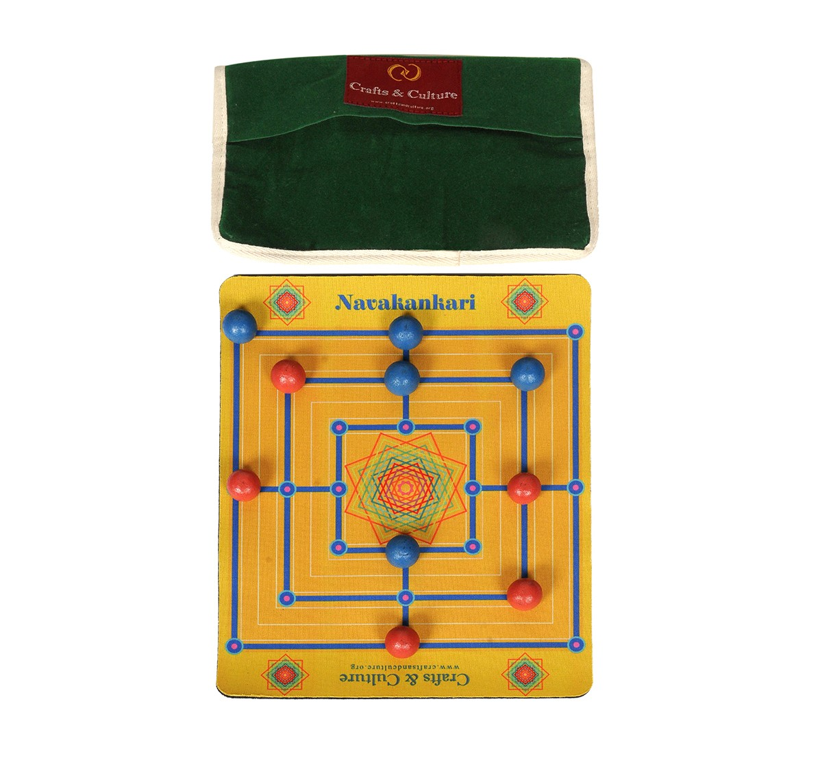Craft & Culture Traditional Game Of India - Char Par for Kids age 6Y+