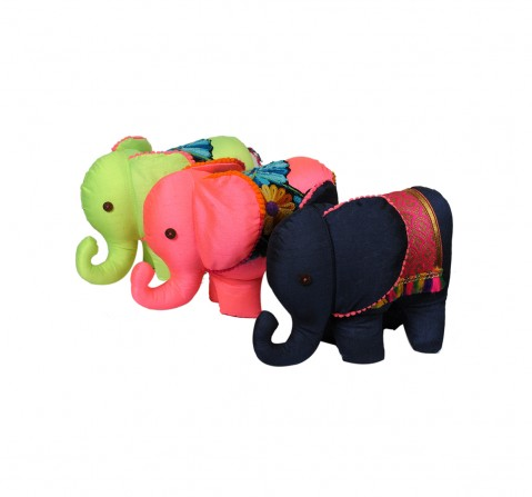 Vibrant India VI Elephant Soft Toy L for Kids age 3Y+