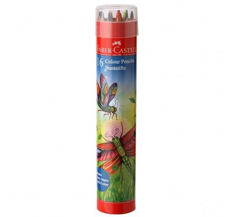 Faber-Castell  colour pencils set 16 tin, 5Y+