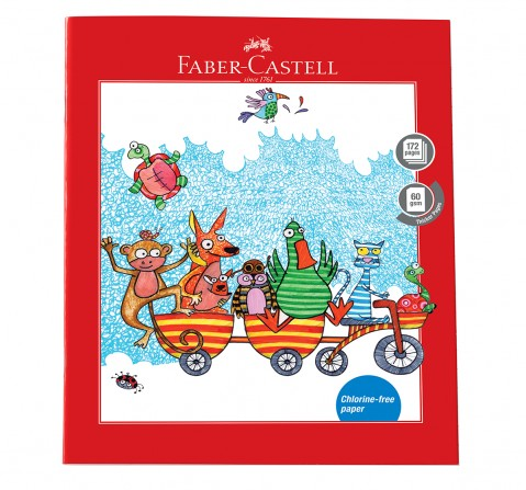 Faber-Castell  172 pg unruled, 6Y+