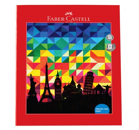 Faber-Castell 120 pg unruled, 6Y+