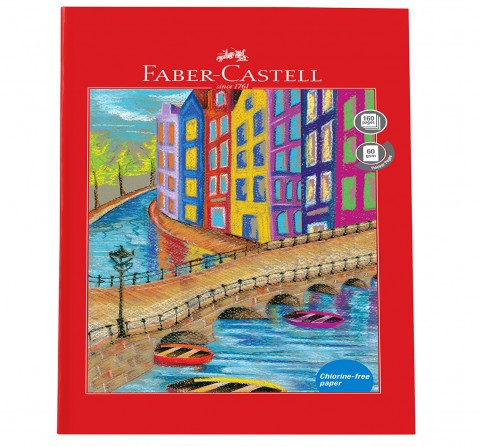 Faber-Castell  160 pg single line, 6Y+
