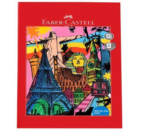 Faber-Castell  160 pg unruled, 6Y+