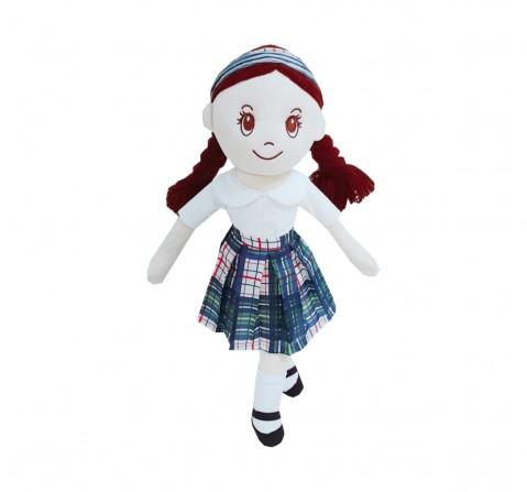 Dimpy Stuff Candy Doll Check Fabric, 50Cm (Multicolor)