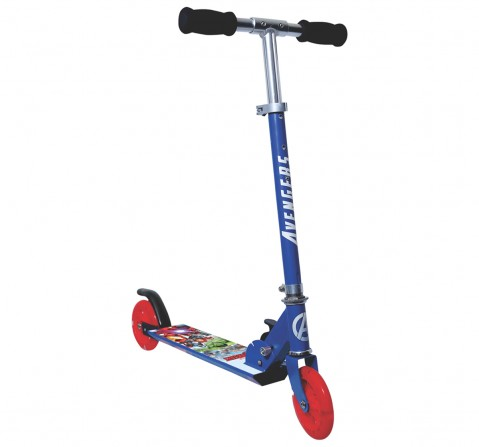 Avengers 2-Wheel Scooter for Kids age 4Y+, Blue