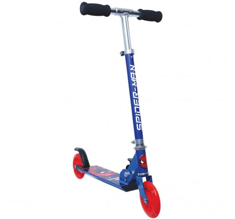 Spiderman 2-Wheel Scooter  for Kids age 4Y+, Blue